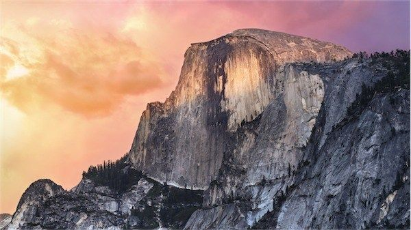 New OS x 10.10 Yosemite Wallpaper - iHash