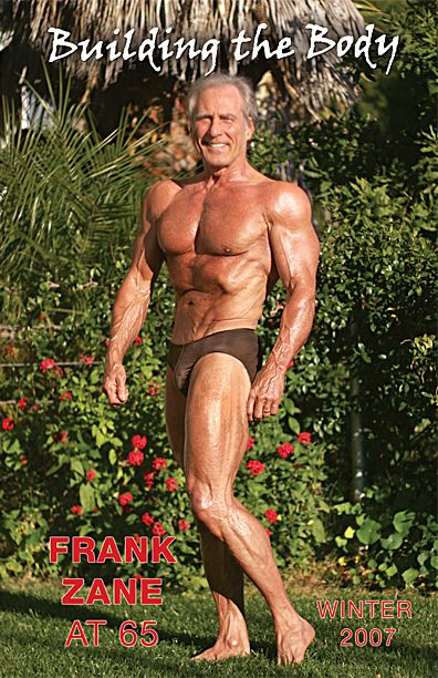Former Mr Olympia Frank Zane at age 65 ... Whats Your Excuse                                                                                                                                                     Plus