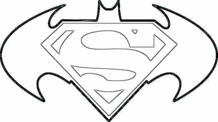 Superman Vs Batman Coloring Pages Superman Coloring Pages Batman Coloring Pages Superman Birthday Party