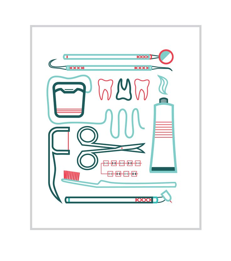 Recently I went to the dentist and was intrigued with how unique every tool is there.  I really liked their designs and was inspired to make these icons.  Enjoy!