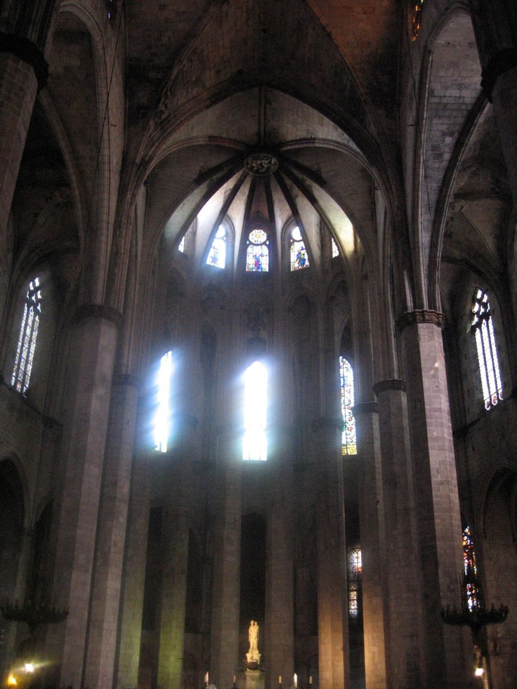 Santa Maria del Pi  14thC gothic, Barcelona