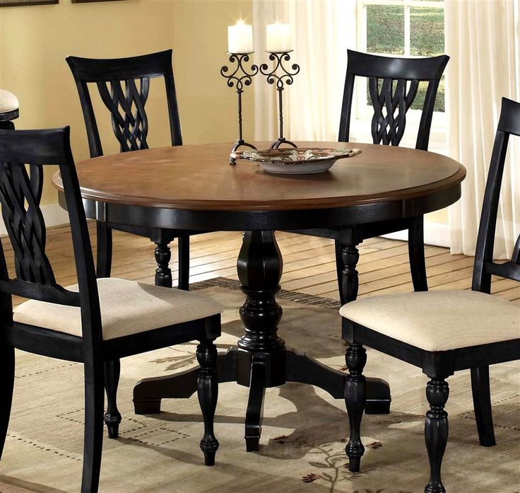 Brown Traditional 5 Piece Round Dining Set Cally: Best 25+ Round Pedestal Tables Ideas On Pinterest