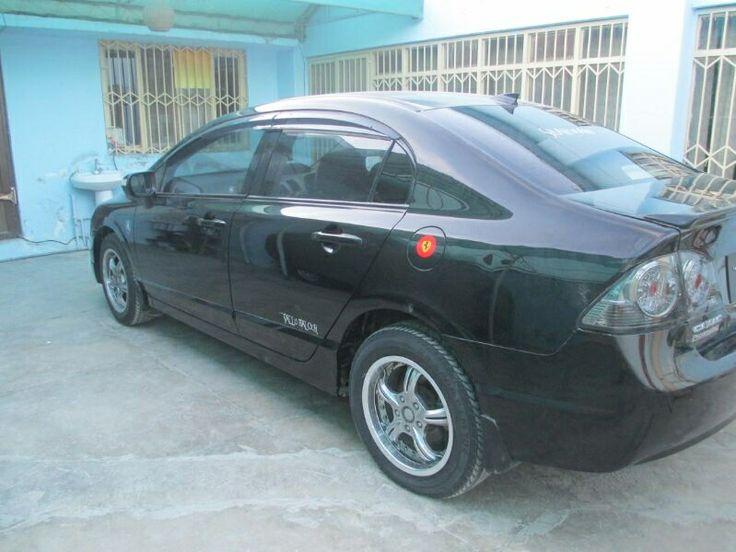 Honda Civic for Sale in Quetta, Pakistan. Honda Civic Reborn 2007-2008 VTI-Oriel Prosmetic BLACK  http://www.naicar.com/car/3445/