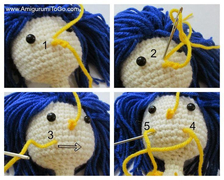 Amigurumi Doll Nose : 17 Best images about Kawaii crochet on Pinterest Crochet ...