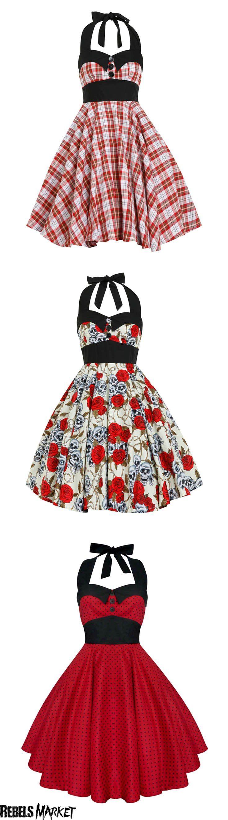 Shop rockabilly Valentine's dresses at RebelsMarket.