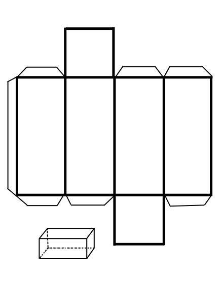 Resultado de imagen para figura de paralelepipedo para tercer grado