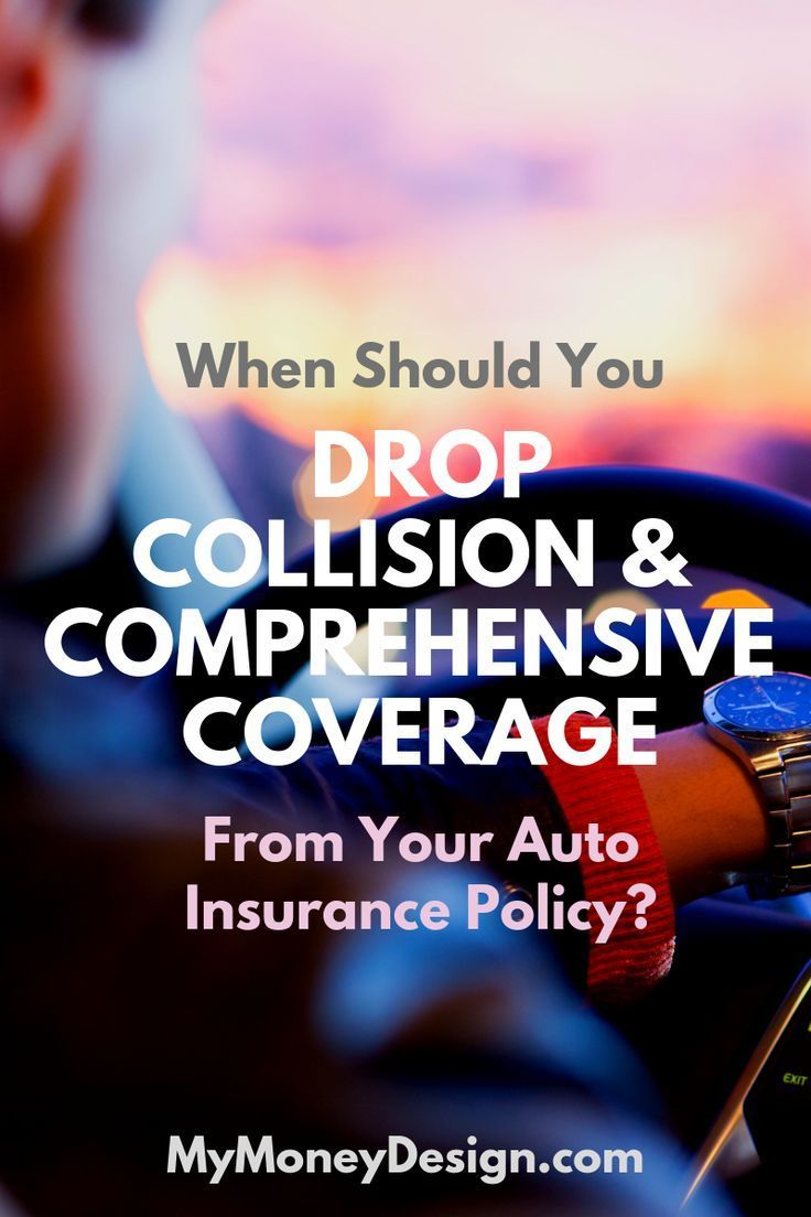 How Exactly Do You Know When To Drop Collision And Comprehensive Coverage From Your Auto Insurance Policy We Crunched The Numbers To Car Insurance Money Saving Tips Insurance Quotes