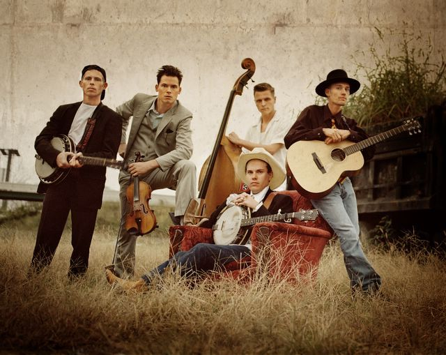 Old Crow Medicine Show. This is a country/folk band that my audience may be fans of.
