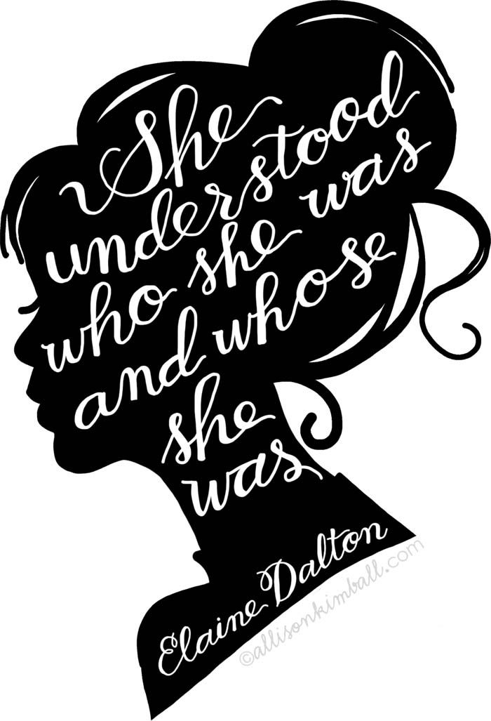 "Akimball_dalton-1 Free download ""She understood who she was and whose she was"""