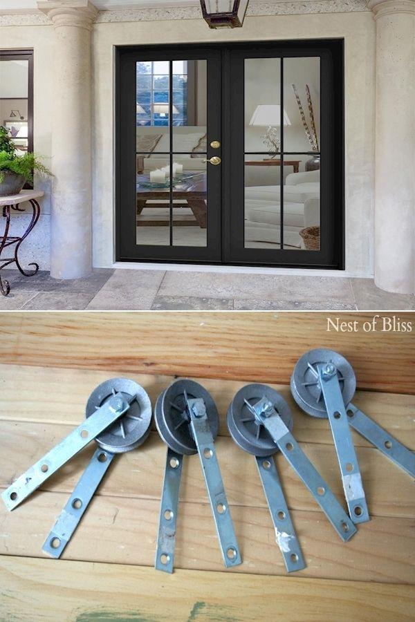 Source Low Price Residential Horizontal Aluminum Glass Sectional Garage Door On M Alibaba Com Sectional Garage Doors Black Garage Doors Small Garage Door