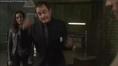 Crowley and his silly dance