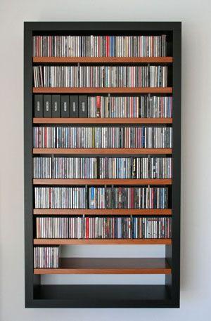 Luxury Large Cd Storage Cabinet