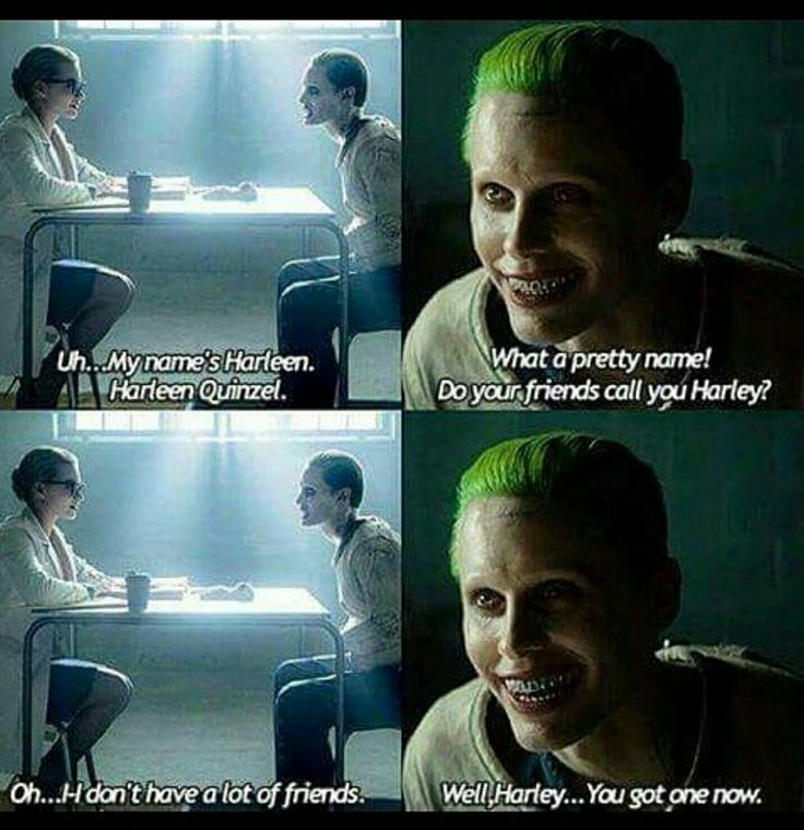 Joker, Harley; Suicide Squad, Batman.