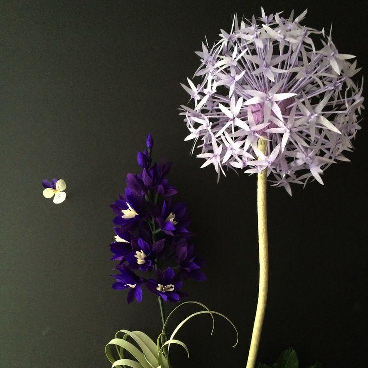 ❤️❤️❤️ gorgeous paper flower art // cobra lily