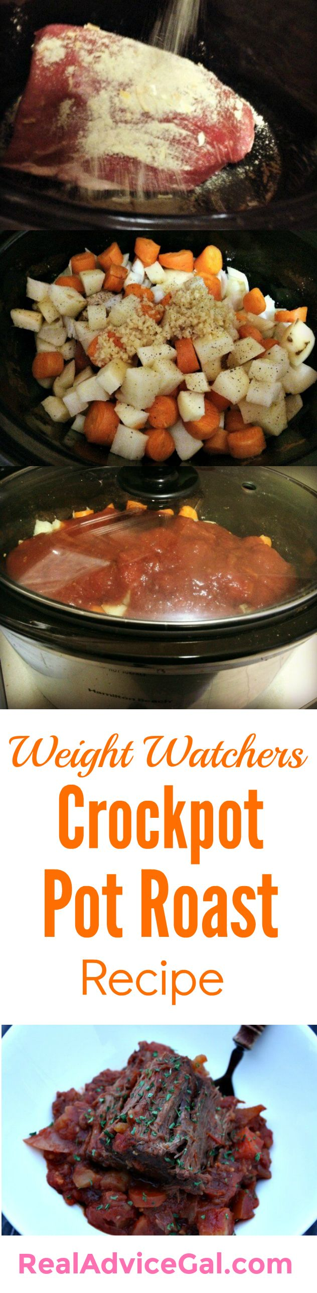 Prepare a delicious meal that the whole family will love. Try this easy Weight Watchers Crockpot Pot Roast Recipe