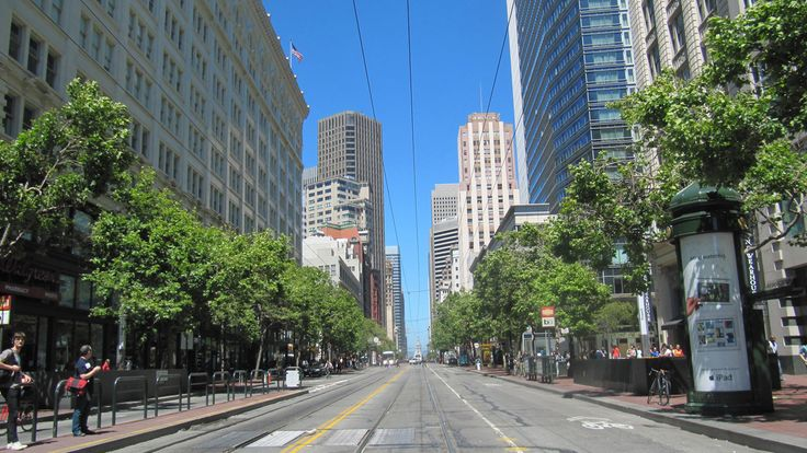 Market Street in San Francisco