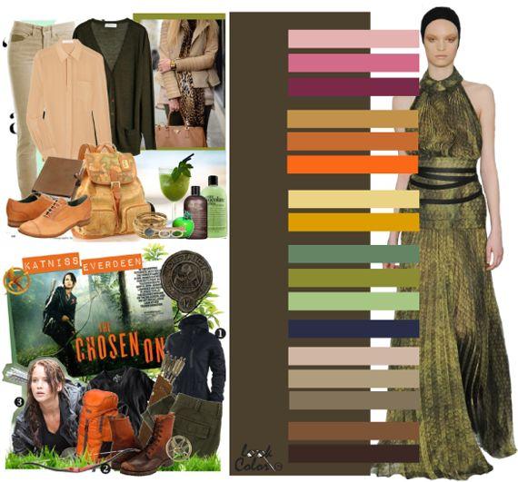 Модные цвета осень-зима 2011. Сдержанные оттенки