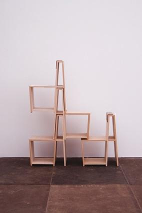 Shelving Chair, Jun Murakoshi, Stand N26, Hall T3, Tent London exhibitor 2012 www.junmurakoshi.com