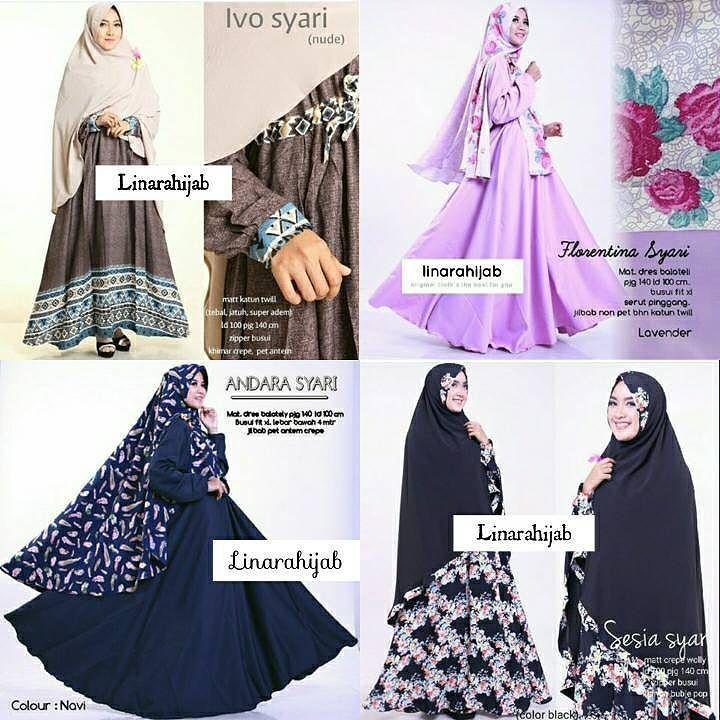 Assalamu'alaikum ukhti ada produk bagus nih dari linarahijab  Bagi ukhti yang sedang mencari gamis syar'i untuk teman hijrah yuk di follow linarahijab cocok banget nih untuk ukhti.  linarahijab punya banyak model dan motif gamis semuanya keren-keren loh cocok untuk sehari-hari dan pergi ke pesta.  Yuk FOLLOW  @linarahijab Admin Order  Line: @tem2159u Bbm: D2F2A614 WA only: 08980828654