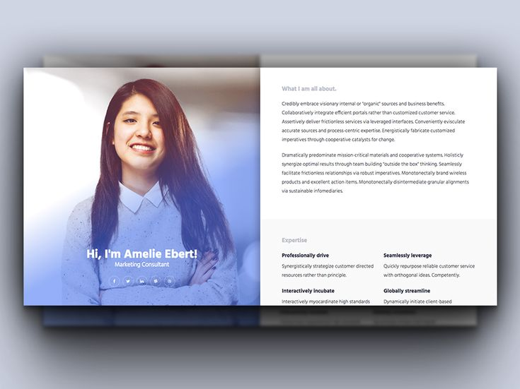 Free HTML Responsive Bootstrap Resume Template #bootstrap - bootstrap resume template