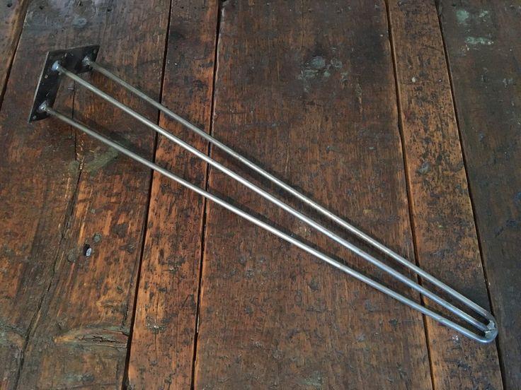 3-Rod Metal Hairpin Leg - hairpin legs, metal hairpin legs, hairpins, metal table legs, table legs