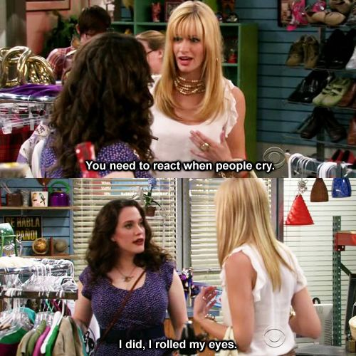 Two Broke Girls :)