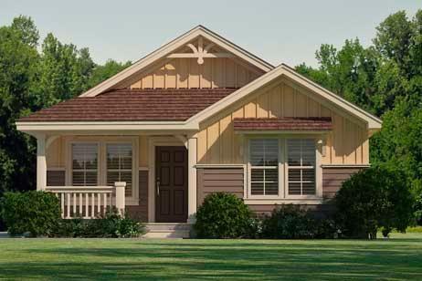 Modular homes craven 996sqft house plans modular and for Narrow lot modular homes
