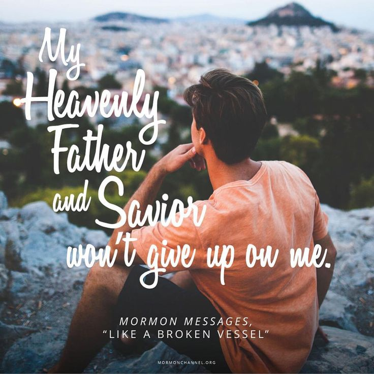 """You can count on that. This quote comes from a Mormon Message featuring #ElderHolland, who says that years ago, when his stress was high and his energy was low, he """"took a psychic blow that was as unanticipated as it was real."""" Want to hear his inspiring advice for others facing similar mental and emotional challenges? Click on the link in our bio.   #QuoteOfTheDay"""