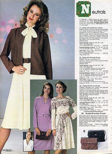 1982-xx-xx Sears Christmas Catalog P104 | 1980s fashion ...