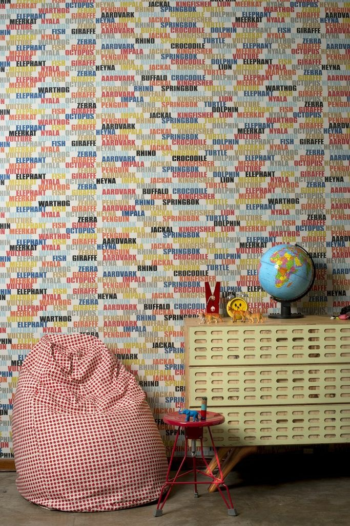 Love the wallpaper? We have many new designs in our Mix and Match collection. Check out our website for more: http://www.designteamfabrics.co.za/mix.html