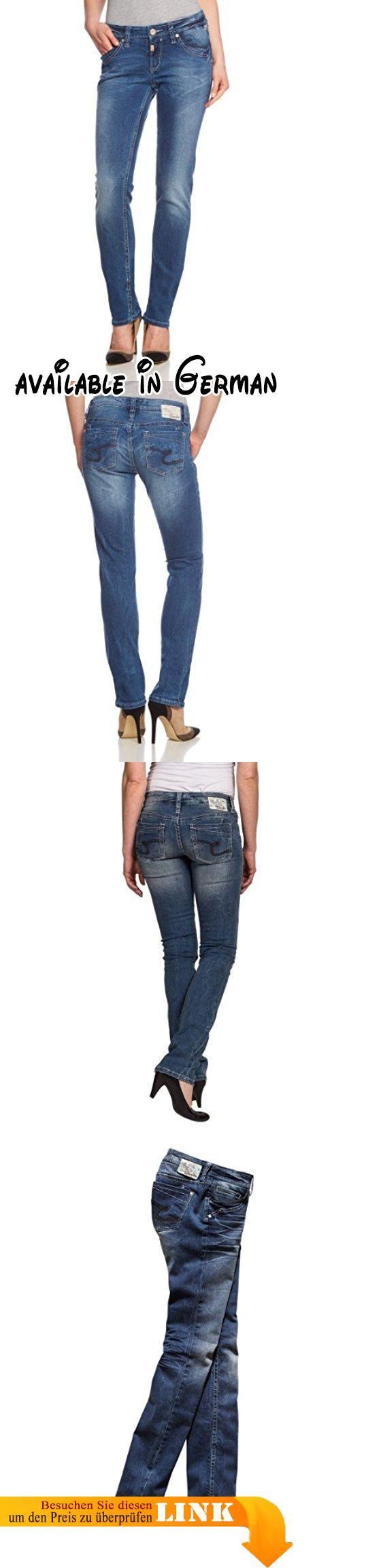 """Timezone Damen Jeans Normaler Bund TahilaTZ """"3352 street wash"""" 16-5295, Gr. 33/32, Blau (street wash 3352). 5 Pocket-Jeans für die modische Frau. mittelblau mit dezenten Wascheffekten #Apparel #PANTS"""