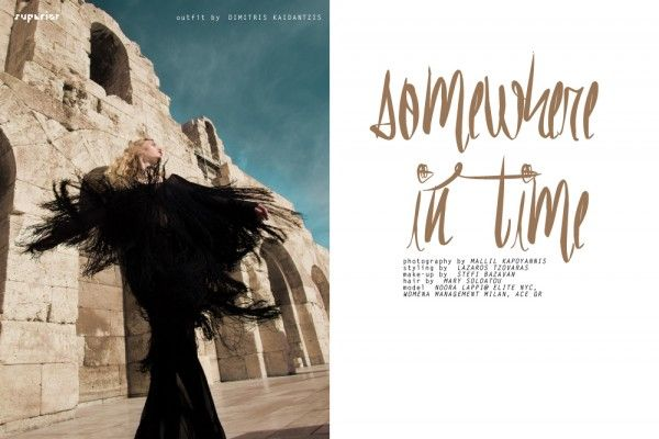 SOMEWHERE IN TIME - Fashion Editorial by MALLIL KAPOYANNIS