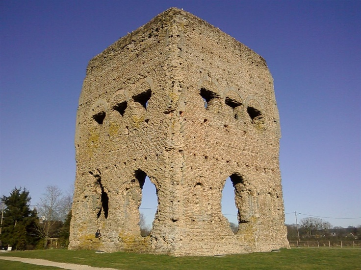 Temple for Janus, Autun France.