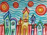 Artwork published by Cassie1195-Hundertwasser