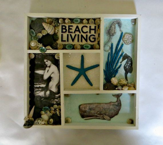 Beach Themed Shadow Box Ideas: 1000+ Ideas About Beach Shadow Boxes On Pinterest