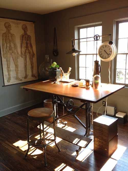 Antique Drafting Table Design