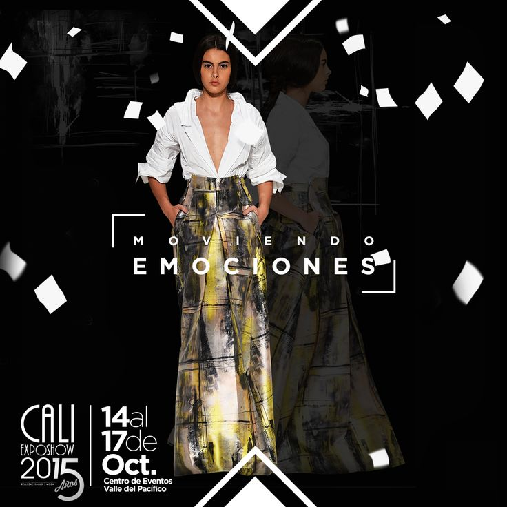 ¿Sabías que los diseños de Maria Elena Villamil   se caracterizan por ser honestos, discretos e innovadores?  #CaliExposhow es #Moda