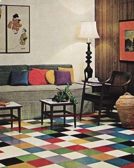decoración de la década de los 60's