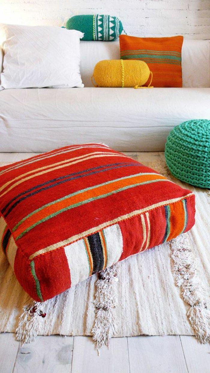 le gros coussin pour canap en 40 photos salon pinterest coussin 60x60 coussin canap et. Black Bedroom Furniture Sets. Home Design Ideas