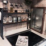Kitchen,IKEA,DIY,手作り,スパイスラック,ステッカーに関連する他の写真