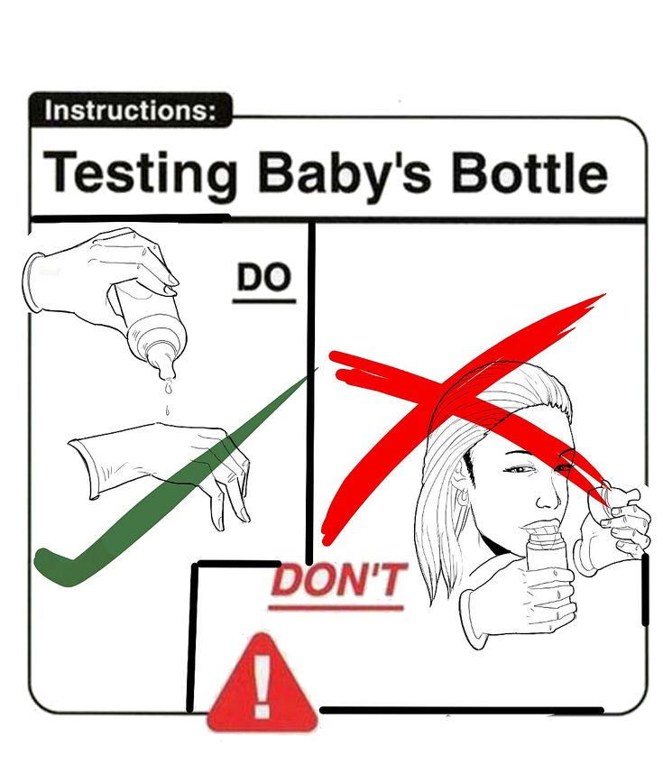 Testing+Baby's+Bottle+Funny+Pics