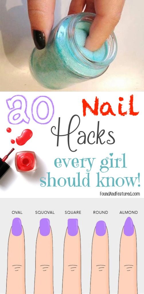 Life changing nail hacks, people!! I wish I knew about these tips and tricks a long time ago!!