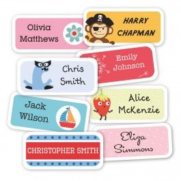 Standard Name Labels ~ Tinyme.  These labels are awesome!