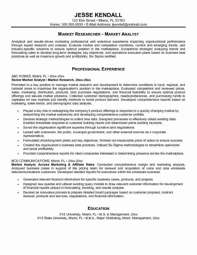 Entry Level Data Analyst Resume Unique 8 Data Analyst Sample Resume
