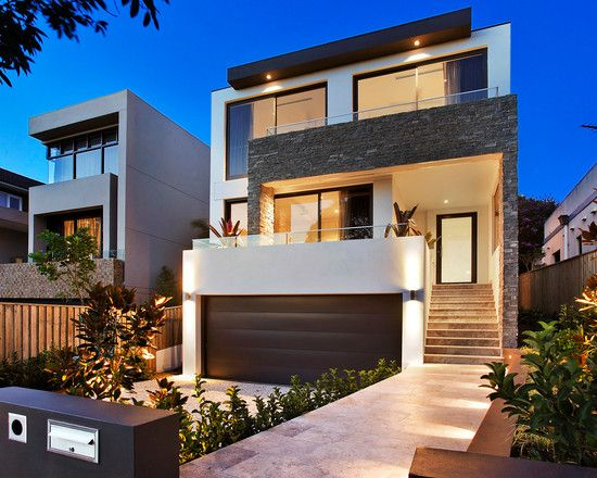 47 best fachadas images on Pinterest | Modern houses, My house and ...