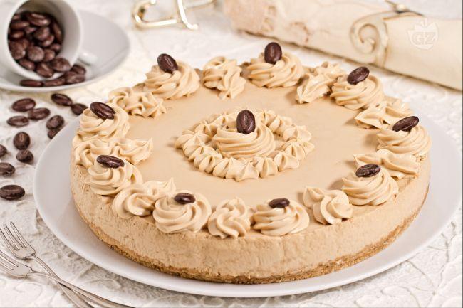Ricetta Cheesecake al caffè - Le Ricette di GialloZafferano.it