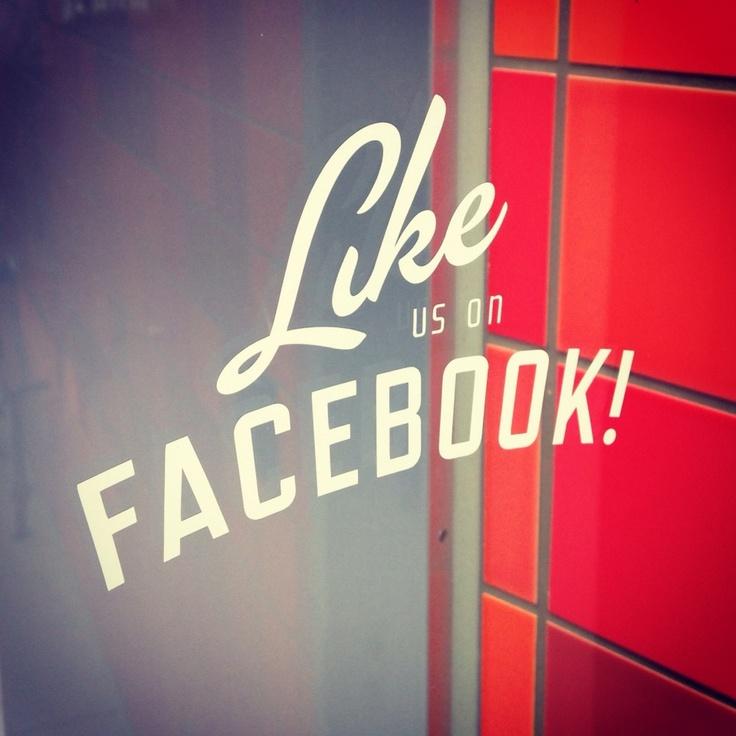 some signage at #Facebook