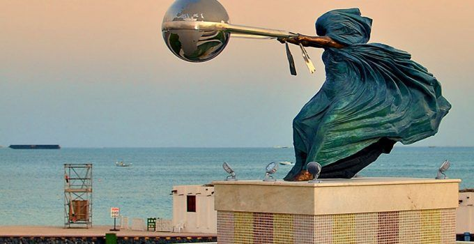 Sculpture Of Force of Nature by Lorenzo Quinn