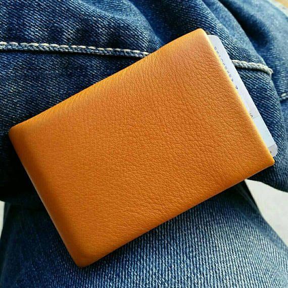 Best Minimalist Wallet Leather Wallet RFID Wallet Mens