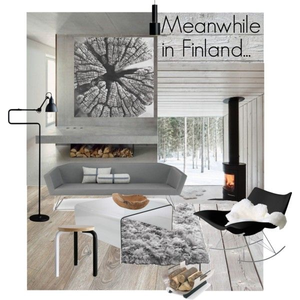 """Meanwhile in Finland..."" by szaboesz on Polyvore"